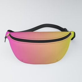 Pink To Yellow Gradients Fanny Pack