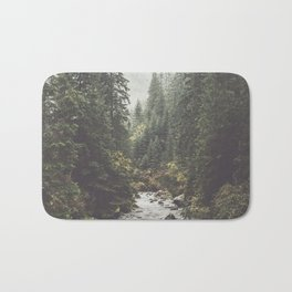 Mountain creek - Landscape and Nature Photography Bath Mat