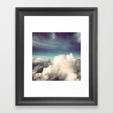 Clouds II Framed Art Print