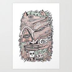 Hirsute Art Print