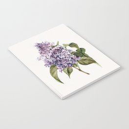 Lilac Branch Notebook
