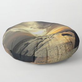 Sanibel Sunset Floor Pillow