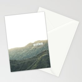 Travel photography A way to Hollywood II Stationery Cards