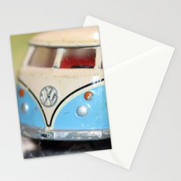 Vintage Minibus-Color Stationery Cards