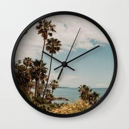 Laguna Beach USA   Fine Art Travel Photography Wall Clock