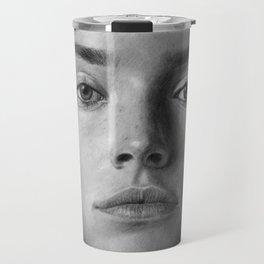 Daisy Ridley Portrait Travel Mug