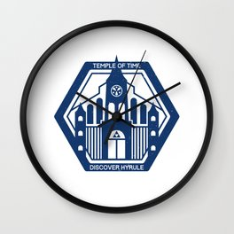 Temple of Time Wall Clock