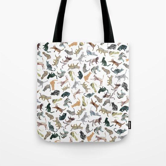 Nature Cats Tote Bag