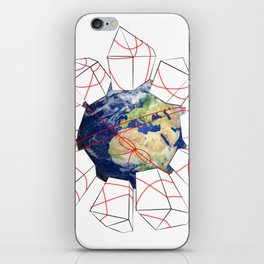 Wrapped to a Warped World iPhone Skin