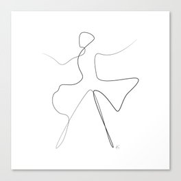 """"""" Dancing Collection """" - Dancer #2 Canvas Print"""
