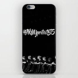 #ArmyprotectBTS iPhone Skin