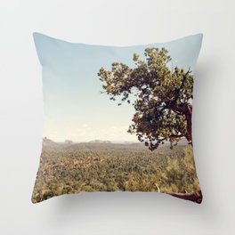 Sedona Skies II Throw Pillow