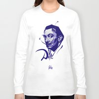 salvador dali Long Sleeve T-shirts featuring Salvador Dali by Henri Fdz