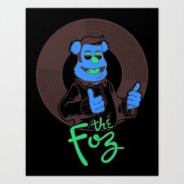 The Foz Art Print