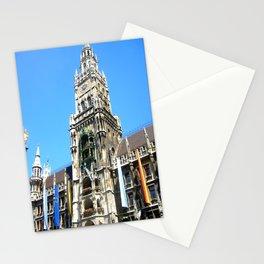 Glockenspiel of Munich. Stationery Cards