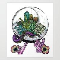 Terrarium-Tastic Art Print
