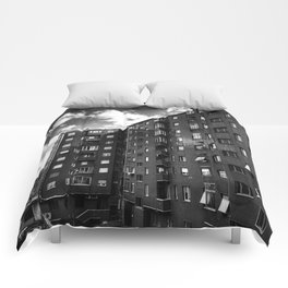 Ugly Buildings Comforters