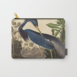 John James Audubon - Louisiana Heron Carry-All Pouch