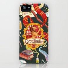 Gryffindor Pattern Slim Case iPhone (5, 5s)