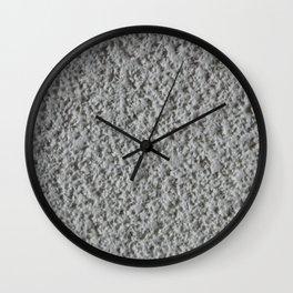 Texture #15 Popcorn ceiling. Wall Clock