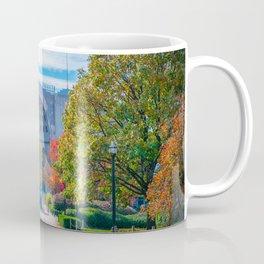 Ohio State Football Horseshoe Stadium Fall Print Coffee Mug