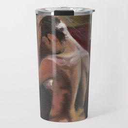 Nude in Shower (Dominic Monaghan) Travel Mug