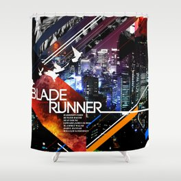 Visions of the Future :: Blade Runner Shower Curtain