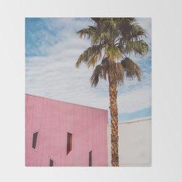 Palm Springs Vibes Throw Blanket