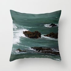 Praia do Castelejo, Portugal Throw Pillow
