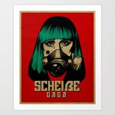 Scheiße Part 2: Don't Speak Scheiße Art Print