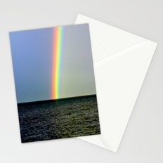 Pot of gold over the Bay Stationery Cards
