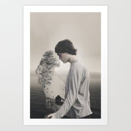 Faded Love Art Print