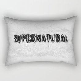 Supernatural monochrome Rectangular Pillow