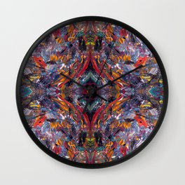The Dragon Festival Wall Clock