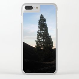 late at arena negra tenerife Clear iPhone Case