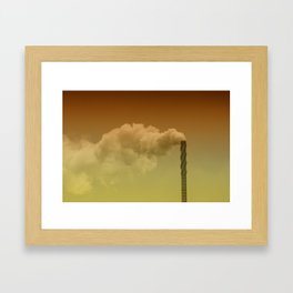 Never forget you're breathing air... Framed Art Print
