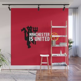 Manchester Is United Wall Mural