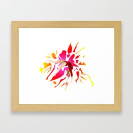 Power of Gymnastics Framed Art Print