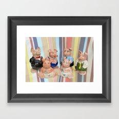 Nat West Piggy Bank Framed Art Print