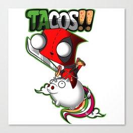 Tacos! Canvas Print