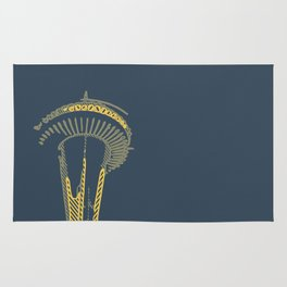 Space Needle Three Rug