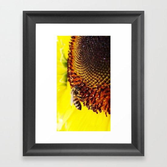 Busybee Framed Art Print