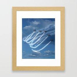 Brave Five Framed Art Print