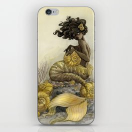 Sea Snail Mermaid iPhone Skin