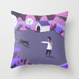 Play in the night garden Throw Pillow