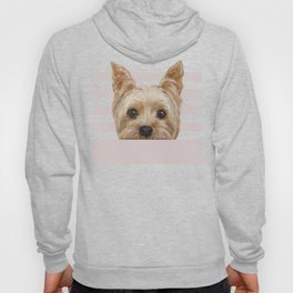 Yorkshire Terrier original painting print Hoody