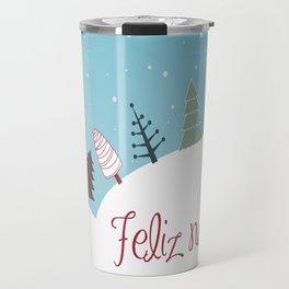 Blanca Navidad Travel Mug