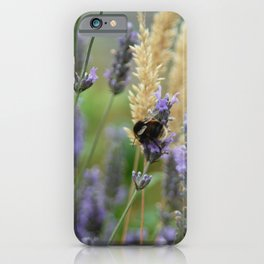 Wild Honey Bee iPhone Case