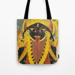 Kali Goddess Vintage Tote Bag