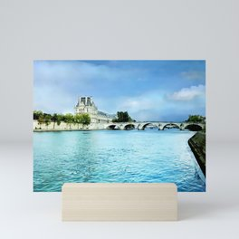 Seine River - Paris France Mini Art Print